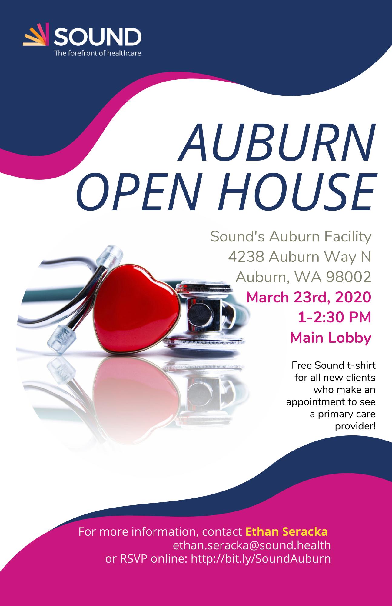 Auburn Open House 11x17